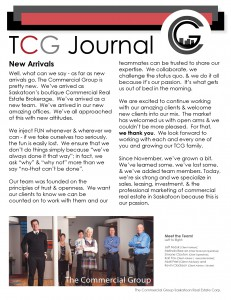 See our first-ever Newsletter publication