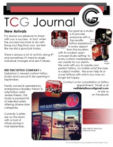 Three of our clients are featured this month
